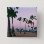 Palm Tree 2 15 Cm Square Badge