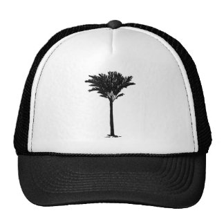 Palm Tree 2 Black The MUSEUM Zazzle Gifts Cap