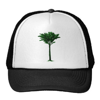 Palm Tree 2 Green The MUSEUM Zazzle Gifts Trucker Hats