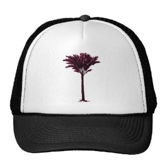 Palm Tree 2 Magenta The MUSEUM Zazzle Gifts Mesh Hat