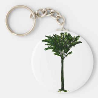 Palm Tree 2 The MUSEUM Zazzle Gifts Key Chain