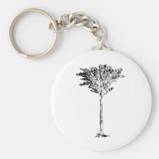 Palm Tree 2 White The MUSEUM Zazzle Gifts Key Chains