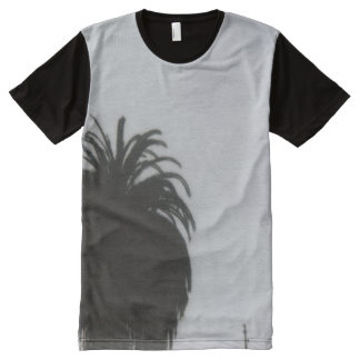 Palm Tree All-Over Print T-Shirt