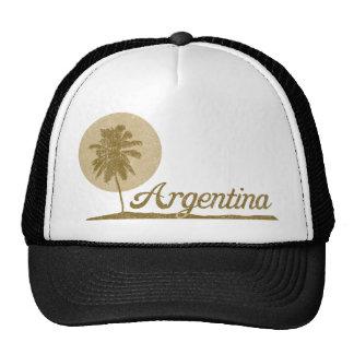 Palm Tree Argentina Trucker Hats