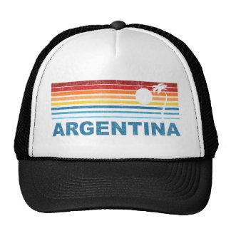 Palm Tree Argentina Trucker Hat