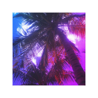 Palm tree art canvas