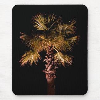 Palm tree at night mousepad