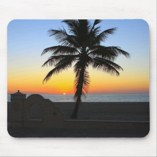Palm Tree at Sunset Gifts Mouse Pad