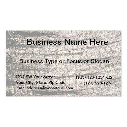 palm tree bark neat wood  tree texture image business card template