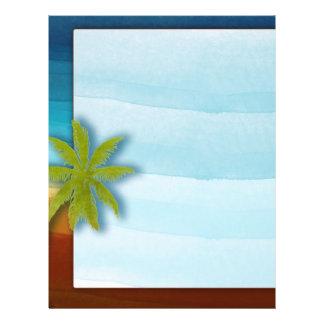 Palm Tree / Beach theme wedding / event Flyer