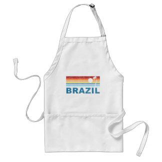 Palm Tree Brazil Standard Apron