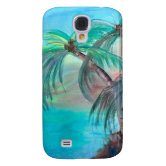 Palm Tree Cell Phone Cover Galaxy S4 Cases