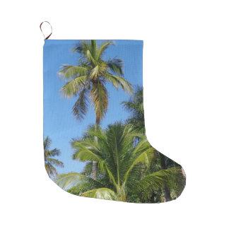 Palm Tree Christmas Stocking