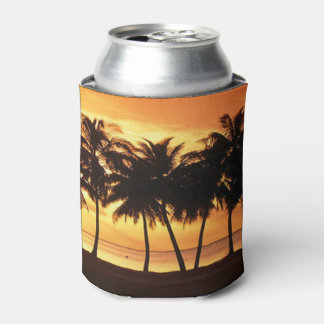 Palm Tree Daydream Can Cooler