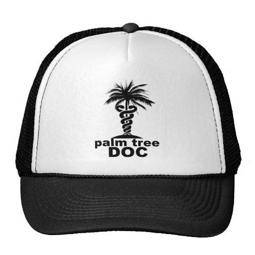 Palm Tree Doc Trucker Hats