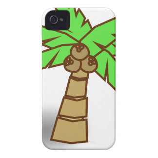 Palm Tree Drawing iPhone 4 Case-Mate Case