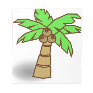 Palm Tree Drawing Notepad