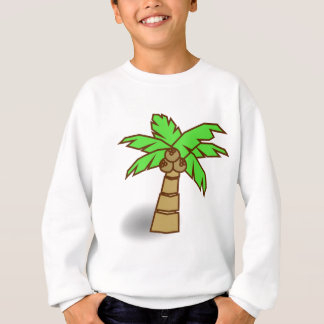 Palm Tree Drawing Sweatshirt