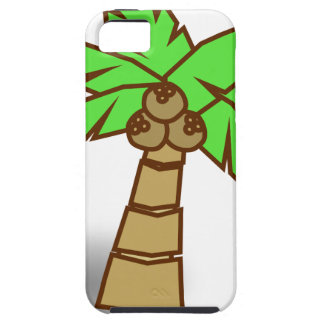 Palm Tree Drawing Tough iPhone 5 Case