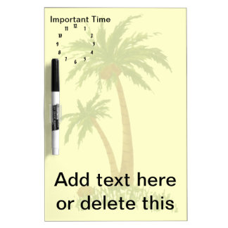 PALM TREE Dry Erase Board