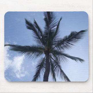 Palm Tree from Below Mouse Pad