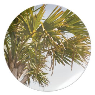 Palm Tree from the East Coast famous Myrtle Beach Plate