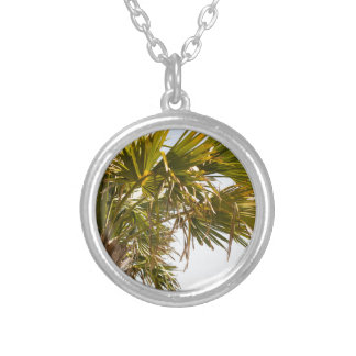 Palm Tree from the East Coast famous Myrtle Beach Silver Plated Necklace