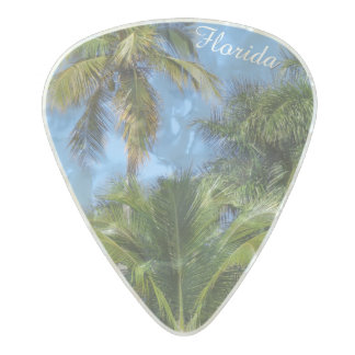 Palm Tree Guitar Picks Pearl Celluloid Guitar Pick
