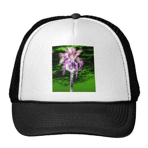 Palm Tree Mesh Hats