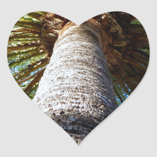 Palm Tree Heart Sticker