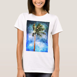 Palm Tree In A Tropical Storm T-Shirt