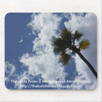 Palm Tree in the Sky Mouse Pad