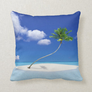 Palm Tree Island Cushion