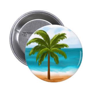 Palm Tree.jpg 6 Cm Round Badge