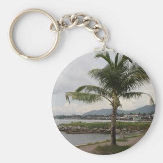 Palm tree key chains