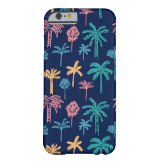 Palm Tree Leaf Pattern Barely There iPhone 6 Case