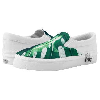 Palm tree Leaf Slip on Shoes
