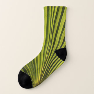 Palm Tree Leaf Socks