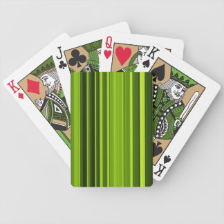 Palm Tree Leaf Texture Bicycle Playing Cards