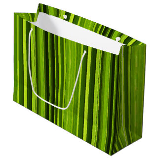 Palm Tree Leaf Texture Pattern Large Gift Bag