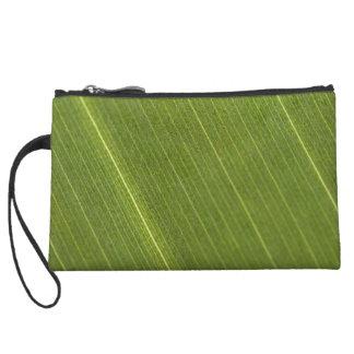 Palm Tree Leaf Wristlet Clutches