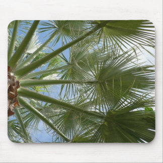 Palm Tree Leaves Mouse Pad