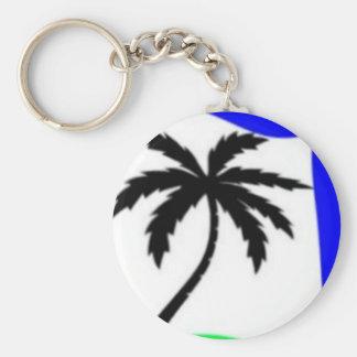 palm tree love keychains