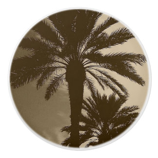 PALM TREE NEUTRAL CABINET KNOB