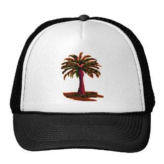 Palm Tree Orange The MUSEUM Zazzle Gifts Hats