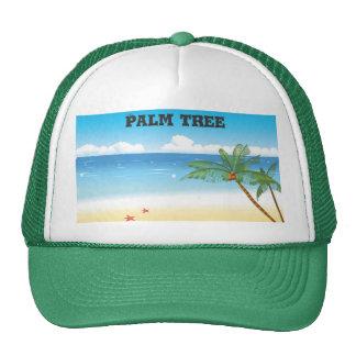 palm tree, Palm tree Mesh Hat