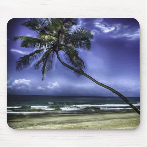 Palm Tree Paradise Mouse Pad
