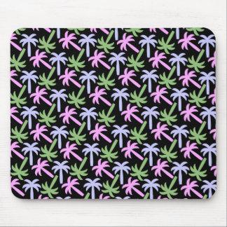 palm tree pattern mouse pad
