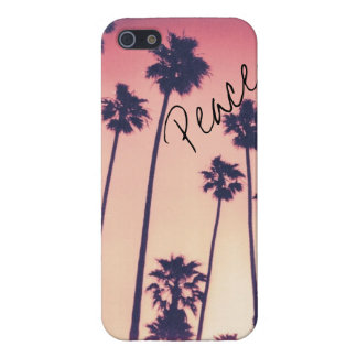 Palm Tree Peace iPhone 5/5S Covers