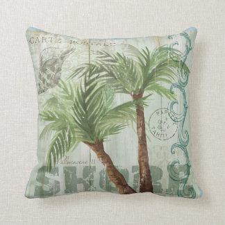 Palm Tree Pillow Throw Cushion